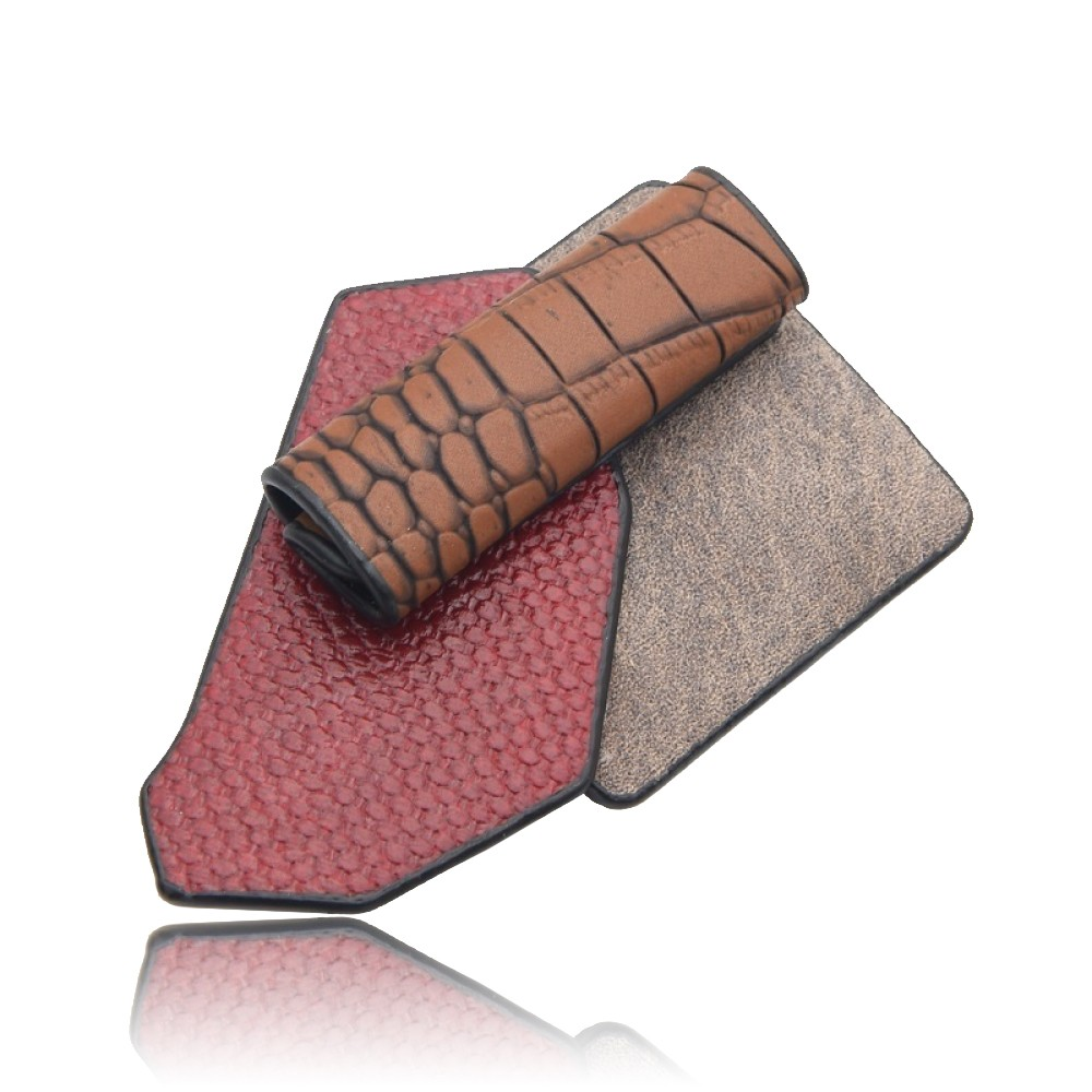 Брошка-підвіска Геометрія коричнева